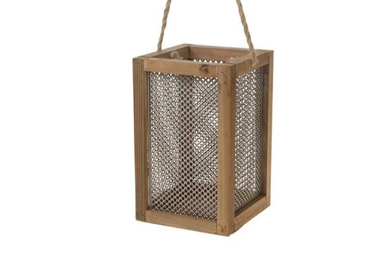 Mobili Legno Riciclato Verona : Lanterna legno riciclato marrone u lanterne ambroso