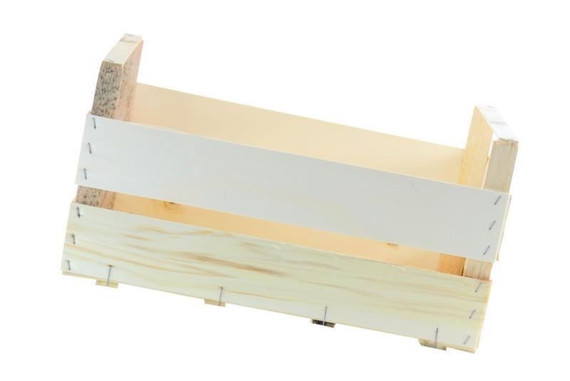 Legno Naturale Chiaro : Cassetta legno naturale chiaro  u cesti ambroso